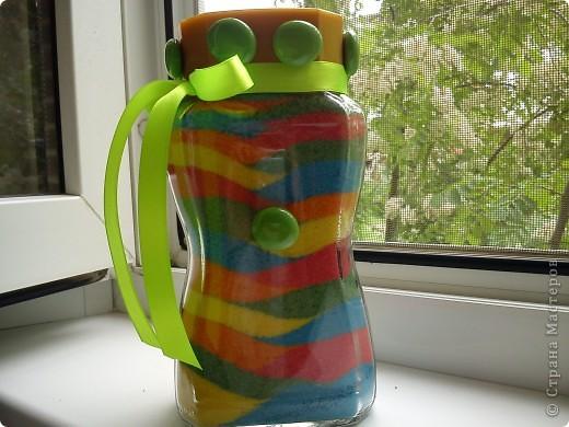 Вот и еще мои бутылочки-насыпушки! Так мне понравилось это занятие. фото 5