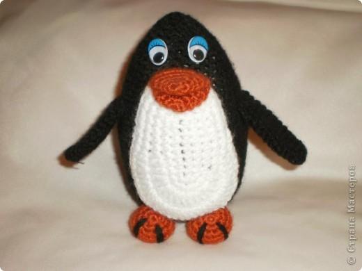 Вот такой пингвин у меня появился!!!!