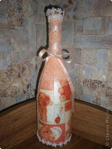 Все бывает первый раз- моя первая бутылка фото 1