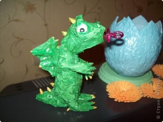 Дракончик в яйце фото 2