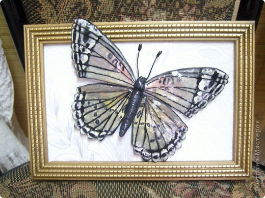 Бабочка.По МК Решенсковой Екатерины. фото 1