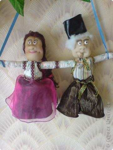 вот таких кукол подарила родителям на годовщину свадьбы фото 1