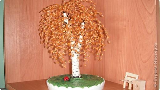 березка осень ствол из гипса фото 1