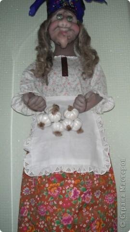 баба ежка моя первая объемная работа с текстилем фото 2