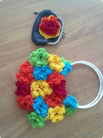летняя цветочная сумка