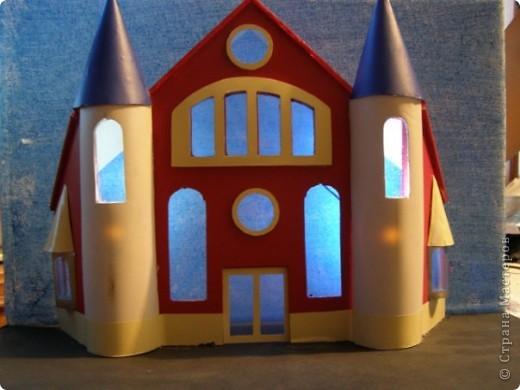 Макет фасада с подсветкой