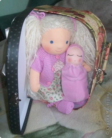 Вальдорфская кукла фото 4