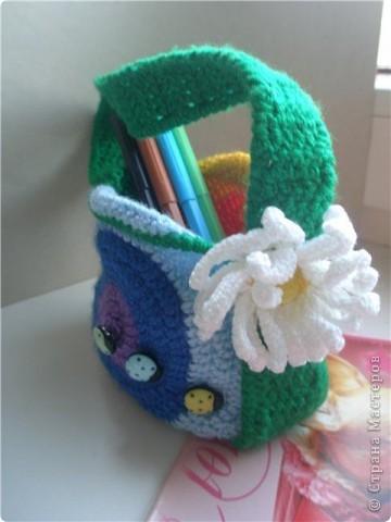 Вот такая сумочка связалась для доченьки)))  фото 2