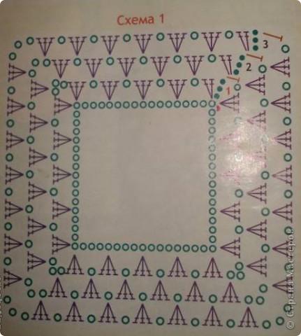 Пончо вязала без схем (есть схема начАла пончо, а далее моя фантазия).  фото 8