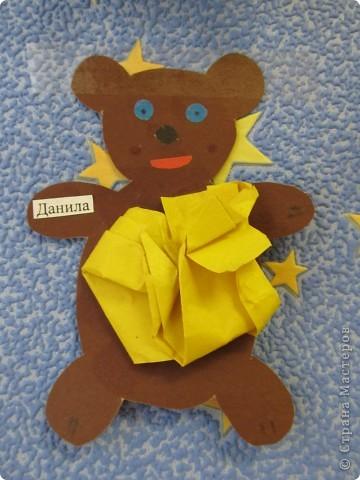 Вот такие медвежата с толстыми животиками получились у моих малышей трехлеток. фото 2
