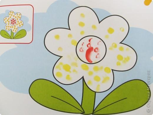 """Рисование пальчиками в альбоме """"Это может ваш малыш""""(дети трех лет) фото 5"""