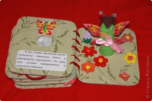 Книжка снаружи Ниже можно посмотреть все развороты книги. А вот ( http://stranamasterov.ru/node/155860 ) другая моя книжка в той же технике фото 13