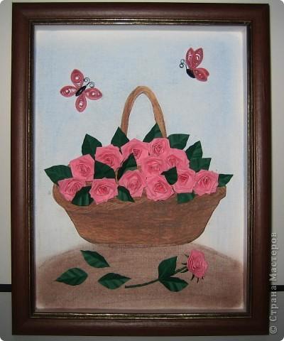 Вдохновила меня на такую работу мастерица Лена-Лена. Спасибо ей большое за идею с корзинкой! http://stranamasterov.ru/node/85398
