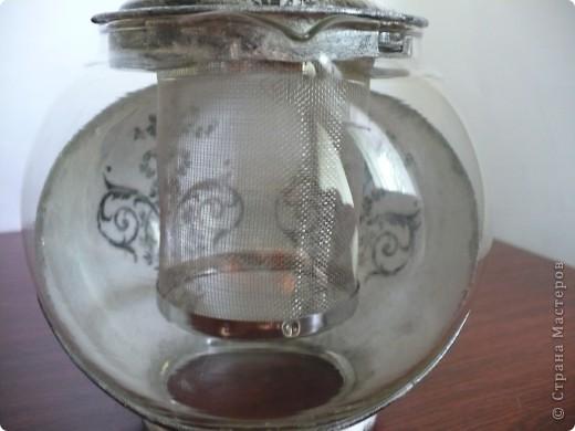 получился вот такой наборчик для  любительницы кофе. Долго экспериментировала с краями тарелки, несколько раз смывала, но получилось то, что получилось! фото 5