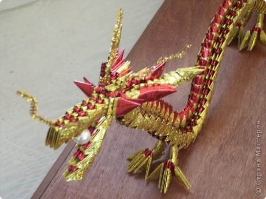 дракон из модулей 3
