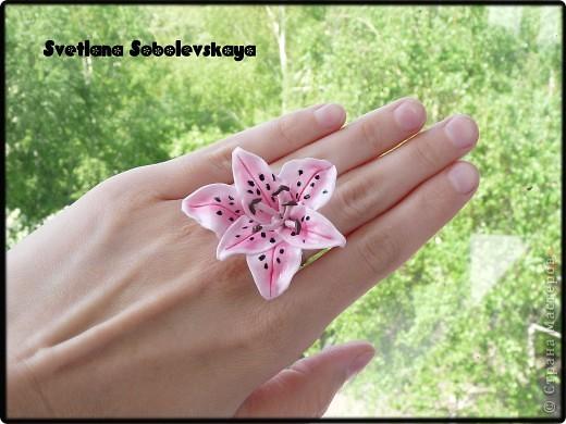 Лилии - гвоздики и кольцо фото 3