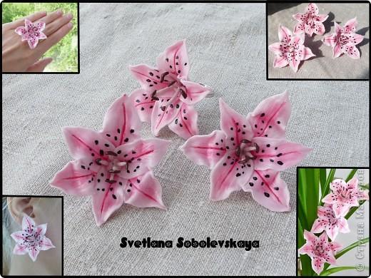 Лилии - гвоздики и кольцо фото 4
