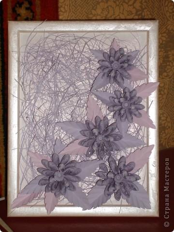 цветочки долго ждали свою рамочку)