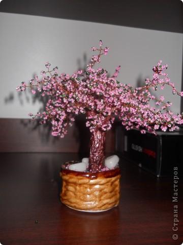 дерево из бисера фото 3
