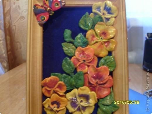 Сирень, сделала слишком мелко и плохо видно цветочки, которые лепились поштучно. фото 2