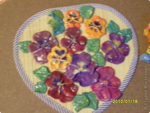 Сирень, сделала слишком мелко и плохо видно цветочки, которые лепились поштучно. фото 4