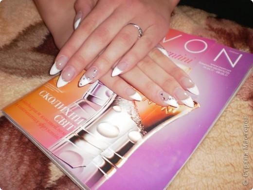 Ногти-это моё!Я самоучка!Все работы тоже мои!Я наращиваю акрилом и рисую!Всем приятного просмотра!))))))))) фото 6