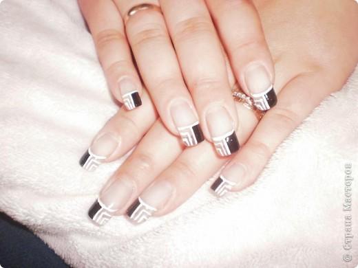 Ногти-это моё!Я самоучка!Все работы тоже мои!Я наращиваю акрилом и рисую!Всем приятного просмотра!))))))))) фото 7