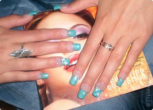 Ногти-это моё!Я самоучка!Все работы тоже мои!Я наращиваю акрилом и рисую!Всем приятного просмотра!))))))))) фото 9