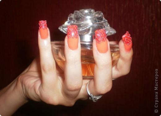 Ногти-это моё!Я самоучка!Все работы тоже мои!Я наращиваю акрилом и рисую!Всем приятного просмотра!))))))))) фото 10
