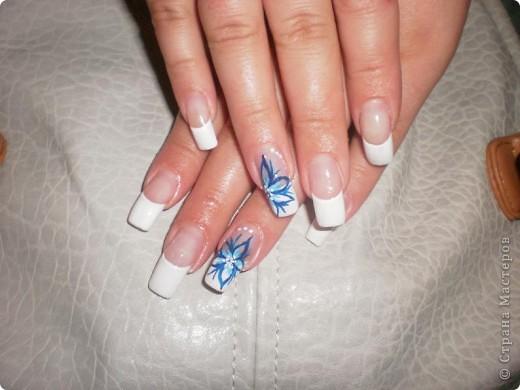 Ногти-это моё!Я самоучка!Все работы тоже мои!Я наращиваю акрилом и рисую!Всем приятного просмотра!))))))))) фото 12