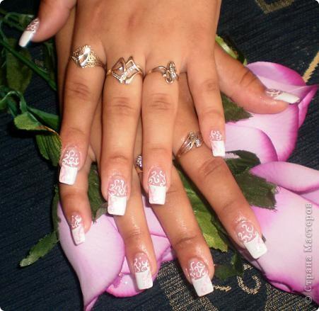 Ногти-это моё!Я самоучка!Все работы тоже мои!Я наращиваю акрилом и рисую!Всем приятного просмотра!))))))))) фото 13
