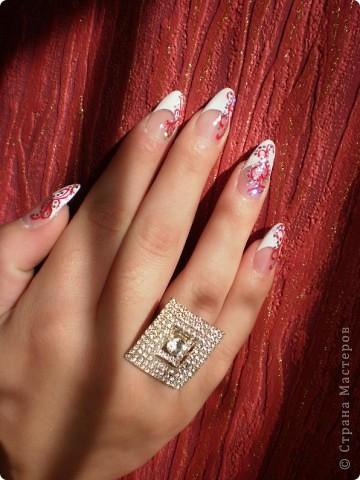 Ногти-это моё!Я самоучка!Все работы тоже мои!Я наращиваю акрилом и рисую!Всем приятного просмотра!))))))))) фото 17