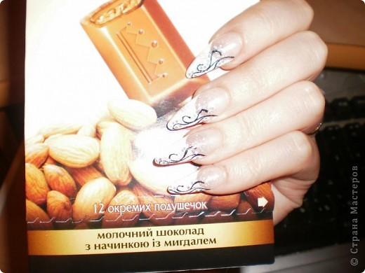 Ногти-это моё!Я самоучка!Все работы тоже мои!Я наращиваю акрилом и рисую!Всем приятного просмотра!))))))))) фото 18