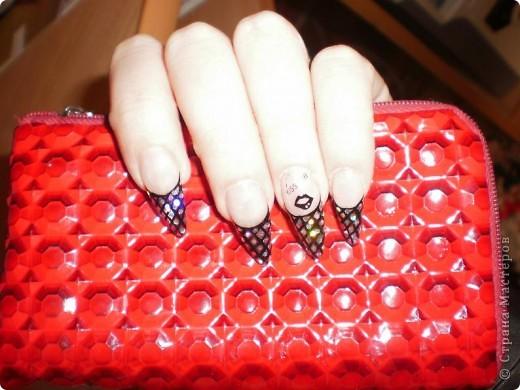 Ногти-это моё!Я самоучка!Все работы тоже мои!Я наращиваю акрилом и рисую!Всем приятного просмотра!))))))))) фото 19