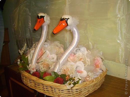 Лебеді які я робила на замовлення.  фото 1