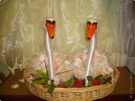 Лебеді які я робила на замовлення.  фото 2