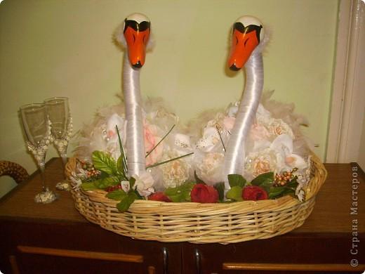 Лебеді які я робила на замовлення.  фото 3