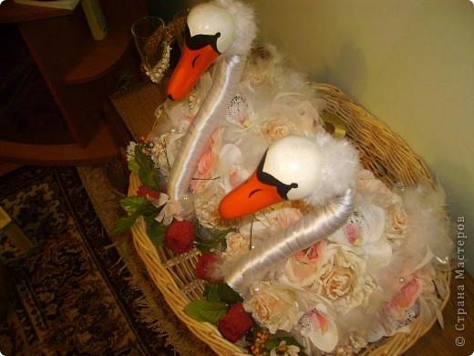 Лебеді які я робила на замовлення.  фото 4