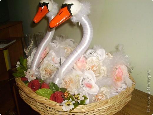Лебеді які я робила на замовлення.  фото 5