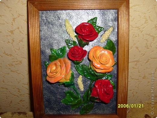 Сирень, сделала слишком мелко и плохо видно цветочки, которые лепились поштучно. фото 3