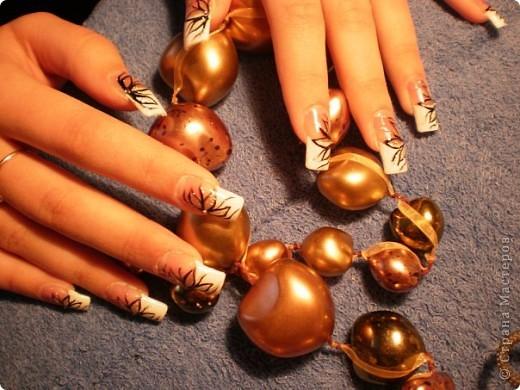 Ногти-это моё!Я самоучка!Все работы тоже мои!Я наращиваю акрилом и рисую!Всем приятного просмотра!))))))))) фото 22