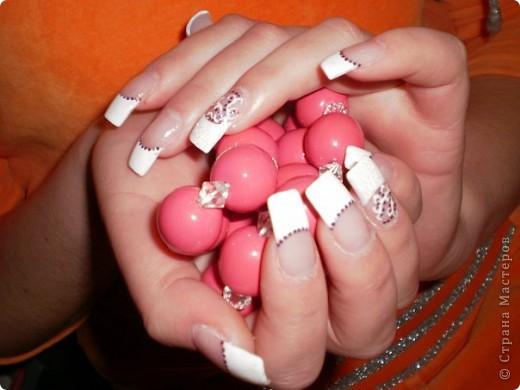 Ногти-это моё!Я самоучка!Все работы тоже мои!Я наращиваю акрилом и рисую!Всем приятного просмотра!))))))))) фото 27