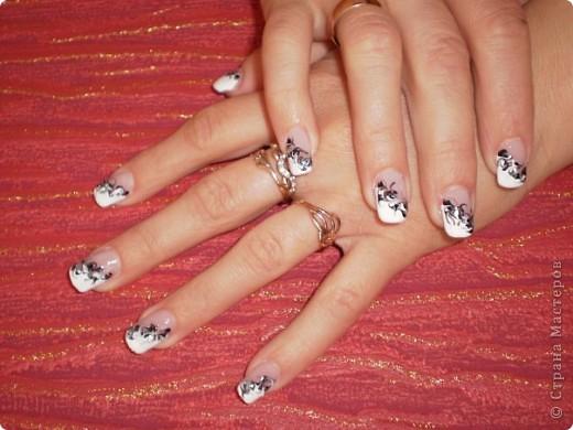 Ногти-это моё!Я самоучка!Все работы тоже мои!Я наращиваю акрилом и рисую!Всем приятного просмотра!))))))))) фото 28