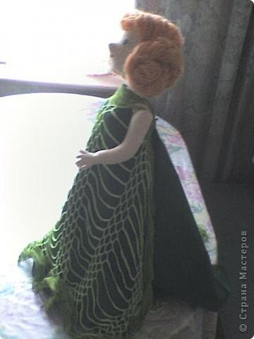 Это моя первая кукла в технике Японские тряпиенсы, то есть кукла шьется по выкройке. фото 2