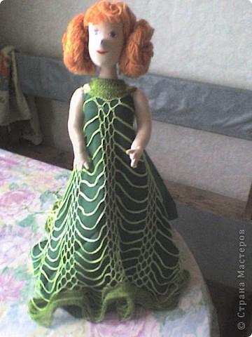 Это моя первая кукла в технике Японские тряпиенсы, то есть кукла шьется по выкройке. фото 1