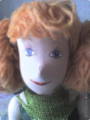 Это моя первая кукла в технике Японские тряпиенсы, то есть кукла шьется по выкройке. фото 3