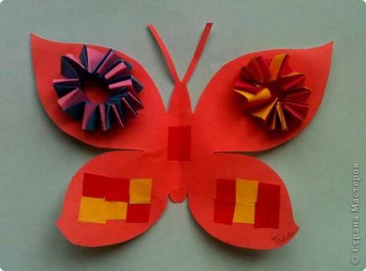 Сегодня сделали таких бабочек.Украшал каждый по своему желанию. фото 2
