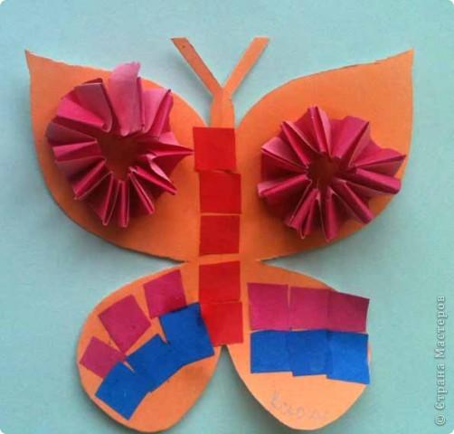 Сегодня сделали таких бабочек.Украшал каждый по своему желанию. фото 7