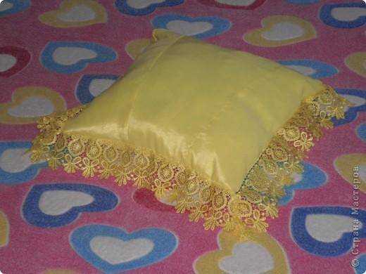 Подушка из старого сарафана