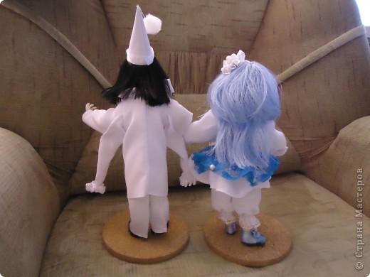 Это Пьеро и Мальвина. Правда мои-особенные (не похожие на реальных). фото 6